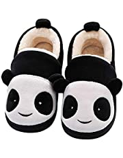 Efeng Baby Girl's Boys's Soft Plush Slippers Animal Warm Winter Booties Indoor House Shoes Lightweight Socks Shoes Non-Slip Sole for Toddler