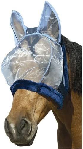 Intrepid International Charlie Bug-Off Shield Fly Mask with Ears