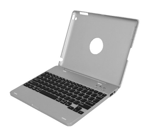 m bluetooth keyboard with 4000 MAH storage battery for iPad 2 ()