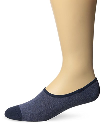 Timberland Men's 3 Pack Canvas Shoe Liner Sock, Denim Heather, One (Denim Canvas Footwear)