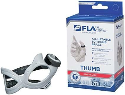 FLA 3D Adjustable Right Thumb Brace, Small