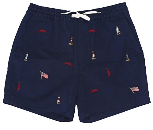 RALPH LAUREN Polo Men's Classic Fit Embroidered Light House Pants 6
