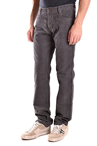 Bikkembergs Homme MCBI042095O Gris Coton Jeans