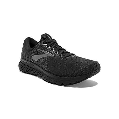 Brooks Mens Glycerin 17 Running Shoe - Black/Ebony - 2E - 11.5