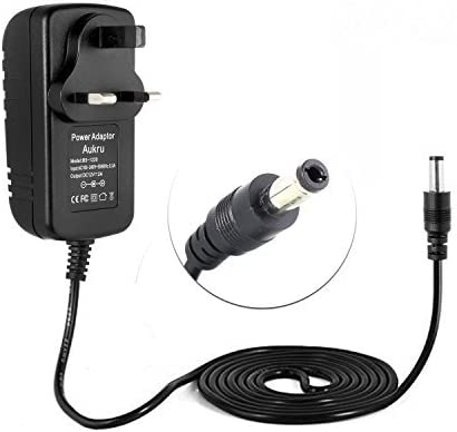 12VDC 2A tip size 5.5mm x 2.5mm Car Adapter DC Power Supply Cord 12 Volt Charger
