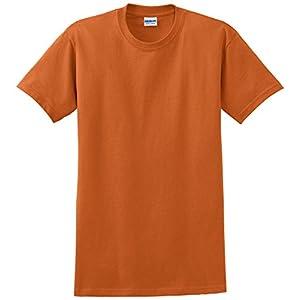 Gildan Men's Ultra Cotton Tee, Texas Orange, X-Large