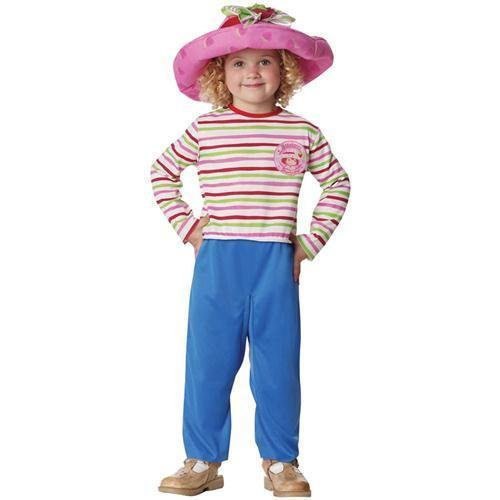 (Strawberry Shortcake Costume - Toddler Large 4T-6T)