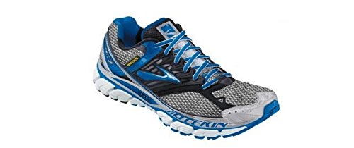 Brooks Glycerin - Calzado de running para mujer, tamaño 4 UK, color azul / blanco / negro
