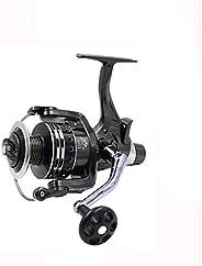 jskjlkl Fishing Spinning Reel Stainless Steel Double Unloading Front Rear Brake Wheel Fishing Reel Bearing Wir