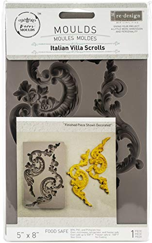 "Prima Marketing Re-Design Mould 5""X8""X12mm-Etruscan Accents"