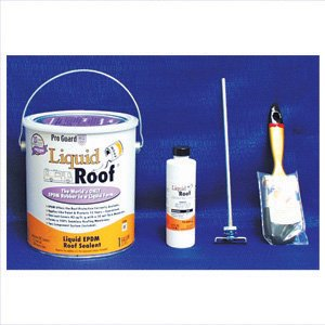 Liquid Rubber Roof, White, 1 gal by Liquid Roof
