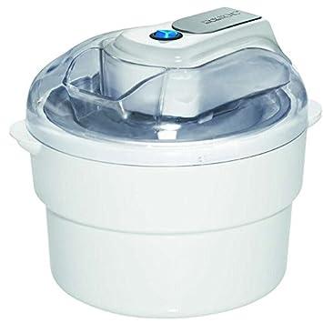 Eléctrica Máquina de hielo para hasta aprox. 1 Kg de helado hielo Sorbet Hielo de