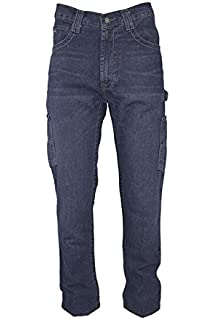 a421aa3dac Amazon.com  Benchmark Men s Flame Resistant Relaxed Fit American ...