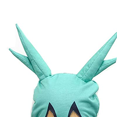 Boku No Hero My Hero Academia Midoriya Deku Bodysuit Headgear for Boys Girls: Clothing