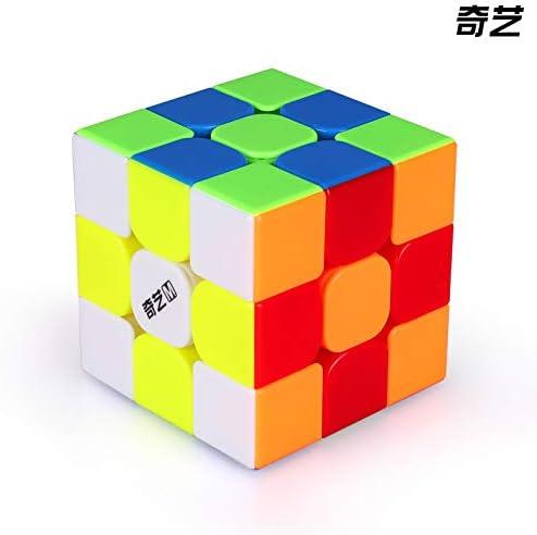stickerless Zauberwürfel Speedcube Magic ... QiYi MoFanGe WuWei 3x3 M Magnetic