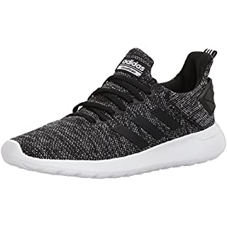adidas Men's Lite Racer BYD Running Shoe, Black/White/Black, 8.5 M US