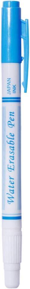 qingqingR3pcs utile Doppia Testa Rosso Blu Viola cancellabile ad Aria Penna Pennarello in Tessuto solubile in Acqua scompare automaticamente Penne Strumento per Cucire