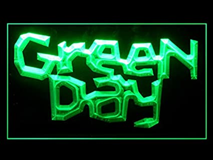 Green Day J469G - Cartel con luz LED: Amazon.es: Oficina y ...