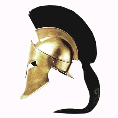 Medieval Spartan Helmet King Leonidas 300 Movie Helmet Replica - Role Play Helm]()