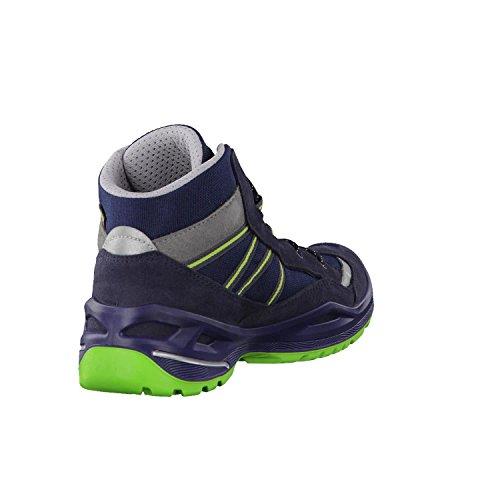 Lowa Simon II GTX QC, Zapatos de High Rise Senderismo Unisex Niños Navy/Limone