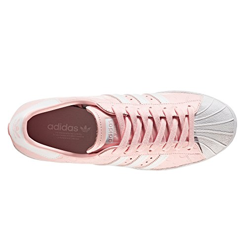 30%OFF Adidas Superstar 80s W Chaussures femme cuir Sneakers