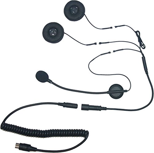 - iMC Motorcom HS-H130P Open-Face Helmet Headset for 7 Pin Harley Davidson Audio Systems
