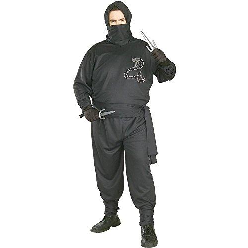 Ninja Plus Size Adult Costume - Plus Size]()