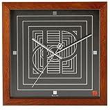 "Bulova 14"" High Frank Lloyd Wright Price Tower Wall Clock"