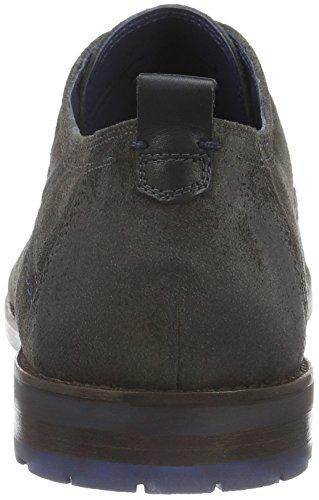 Sioux Scivio-hw, Zapatos de Cordones Derby para Hombre Braun (asphalt)