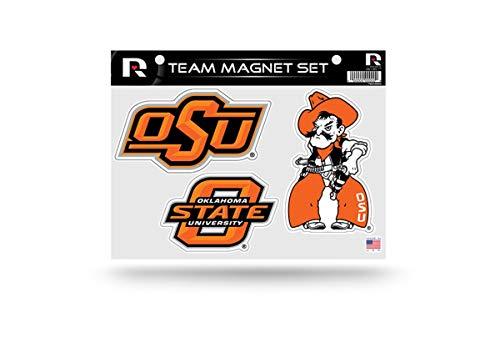 NCAA Oklahoma State Cowboys Die Cut Team Magnet Set Sheet