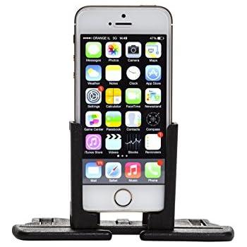 Radmo Classic Mobile Phone Mount For Your Car, Black Nylon