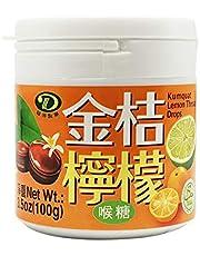 Liuh Der FoodsKumquat Lemon Throat Candy, 100g