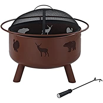 Amazon Com Crosley Furniture Durango Outdoor Fire Pit
