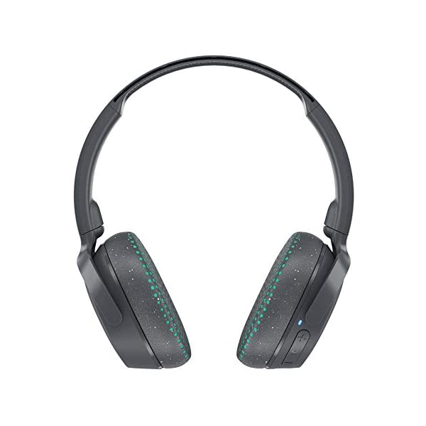 Skullcandy Riff Wireless On-Ear Headphone with Mic (Gray/Speckle/Miami) 2021 August EVERYDAY HEADPHONES WITH FLAVOR: Riff Wireless comes in four different colorways to reflect your unique style. Complement your look with colors that pop, a soft-touch finish, and plush ear cushions EVERYTHING YOU NEED, NOTHING YOU DON'T: Riff Wireless perfectly blends simplicity and technology. You get bold sound quality and convenient features that make your life easier RAPID CHARGE: No waiting around for your headphones to charge. Just 10 minutes of charging gives you 2 hours of use