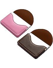 kiniza 2 PCS Leather Business Card Case Holder