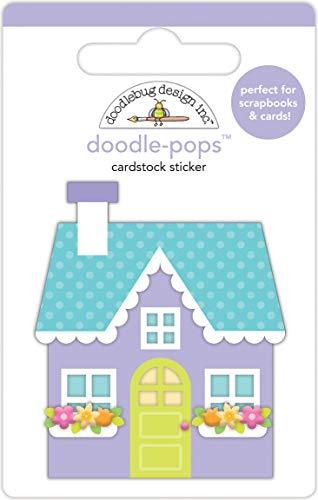 DOODLEBUG Doodle-Pops 3D Stickers-Cozy ()