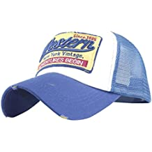 Funic Clearance Embroidered Summer Mens Cap Mesh Hats Casual Hip Hop Hats Baseball Caps Sun Hats