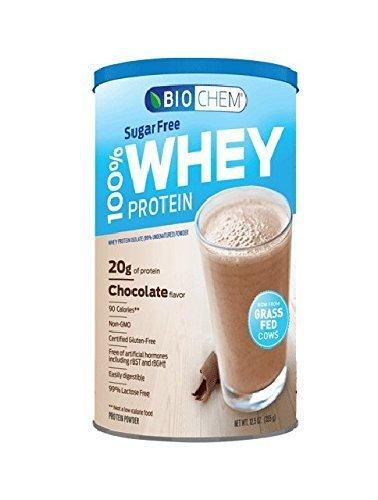 Biochem 100  Whey Sports Nutritional Drink  Chocolate Fudge  Sugarfree  12 5 Ounce By Bio Chem