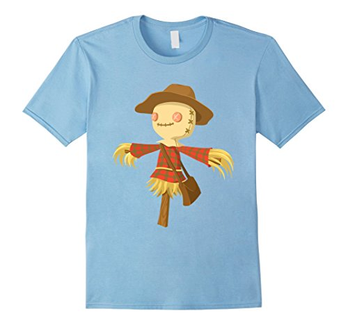 Mens Cute & Funny Scarecrow Halloween T-Shirt Large Baby (Homemade Halloween Treats For Babies)