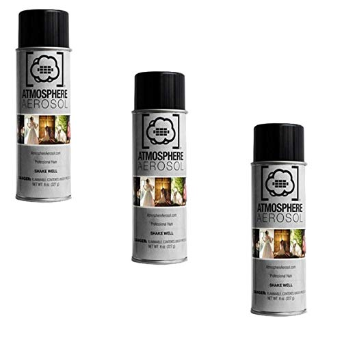 Atmosphere Aerosol 3 Pack 8oz Haze/Fog Spray for Photographers and Filmmakers
