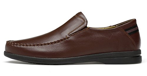 Shoes Business Men's KEEPBLANCE Casual Leather Brown OH0xq6wI