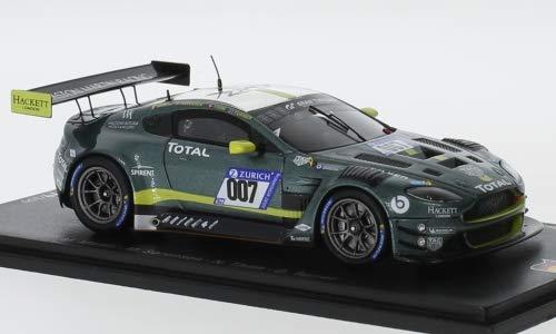 Aston Martin Vantage GT3, No.007, Racing, 24h Nürburgring, 2018, Model Car,, Spark 1:43