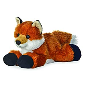 "aurora foxie fox mini flopsie 8"" stuffed animal plush - 41GtGiwUC6L - Aurora World 31290 Foxxie Plush"