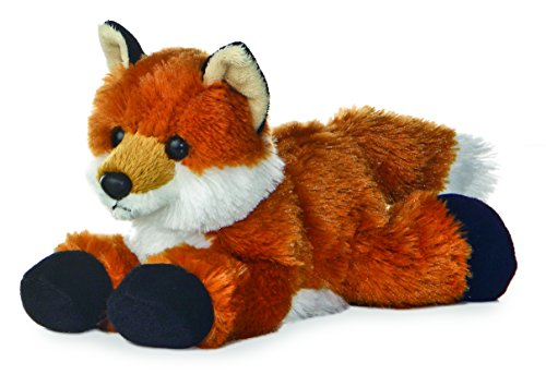 "Aurora Foxie Fox Mini Flopsie 8"" Stuffed Animal Plush"