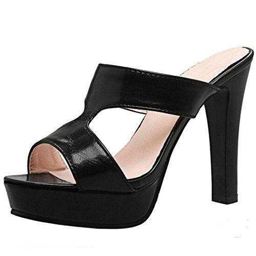 Black Donna Mode Zanpa 1 Sandali Mules xXBnwdq