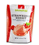 Strawberry Fruit Powder Sorbet Vegan Natural And Organic - Gluten Free Dairy Free GMO Free - Made With Unprocessed Raw Foods - Rich in Nutrition - Ready Blend - 2.53 Oz (72g) by BlendItUp