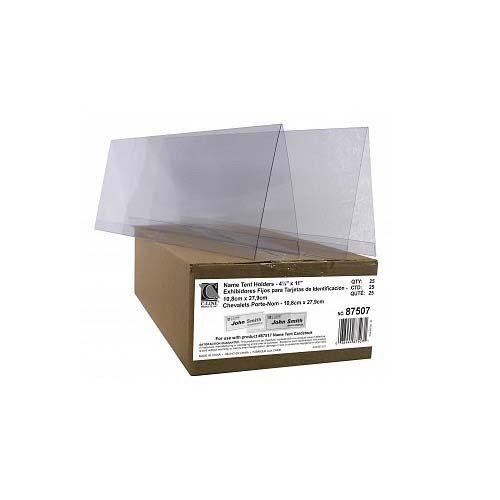 (C-Line Rigid Inkjets/Laser Name Tent Holders - 25/BX)