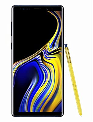 """Samsung Electronics Crown Factory Unlocked Phone with 6.4"""" Screen and 128GB (U.S. Warranty), Ocean Blue"""