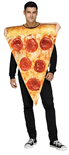 Fun World Mens Pizza Slice Costume Size Standard -