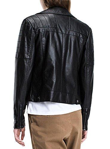 nera da motociclista Tommy Jeans Giacca qSY17gX8w